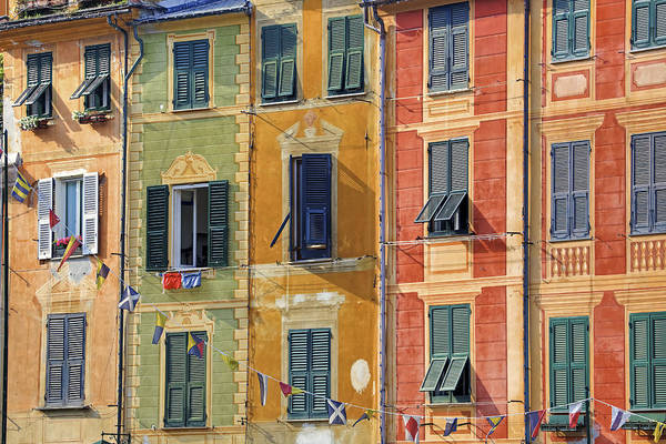 Shutter Photograph - Windows Of Portofino by Joana Kruse