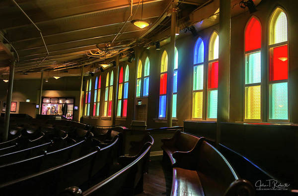 Ryman Auditorium Photograph - Windows Of The Ryman by Clicking With Nature