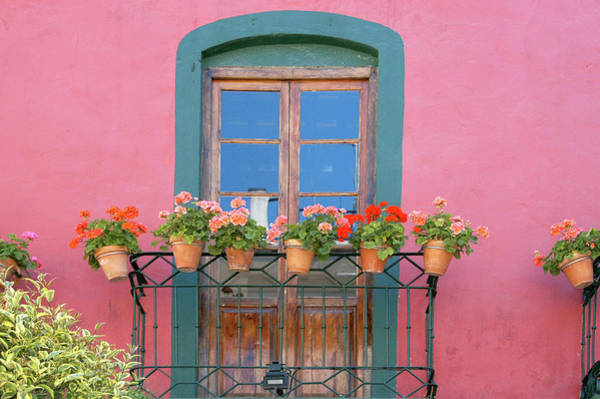 Wall Art - Photograph - Windows Of The World - Spain by Alynne Landers