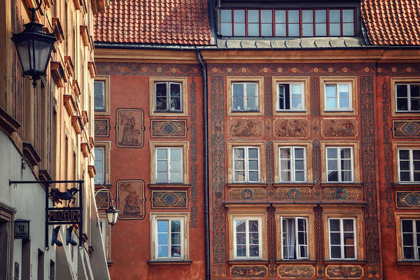 Townscape Wall Art - Photograph - Windows Of Warsaw  by Carol Japp