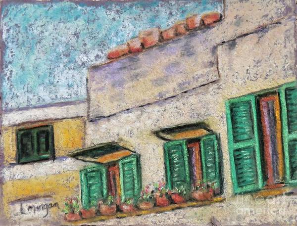 Painting - Windows On A Sasso by Laurie Morgan