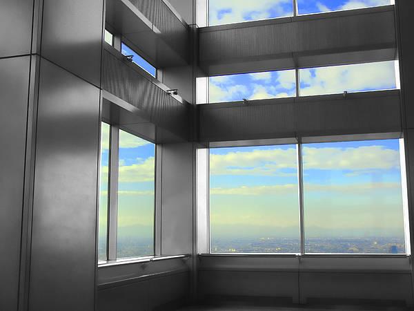 Windows To Tokyo Art Print