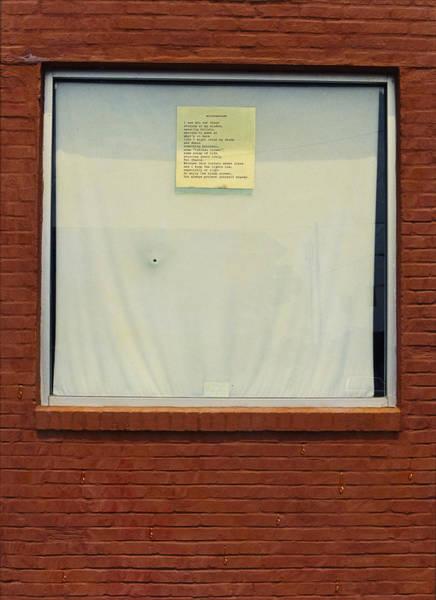 Painting - Windowshade by James W Johnson