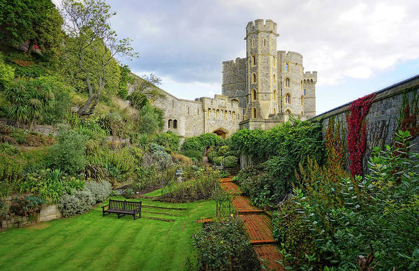 Photograph - Windsor Castle Garden by Joe Winkler