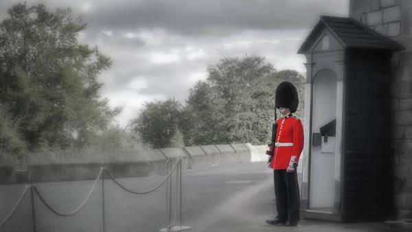 Photograph - Windsor Castle Guard by Joe Winkler