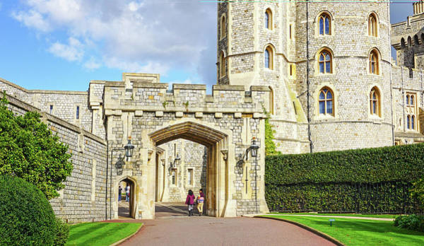 Photograph - Windsor Castle Walk by Joe Winkler