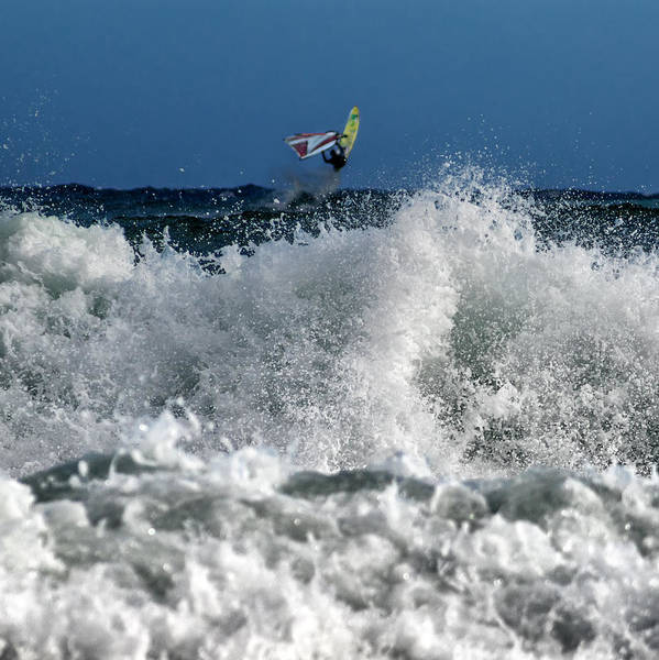 Watersports Photograph - Windsurfer by Stelios Kleanthous