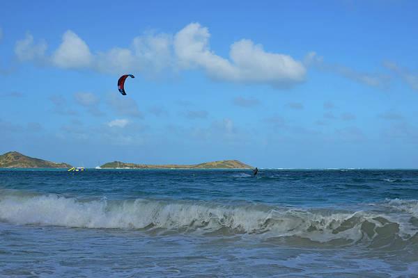 St. Maarten Photograph - Windsurfing Orient Beach In Saint Martin by Toby McGuire