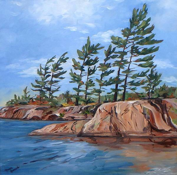 Painting - Windswept by Monica Ironside