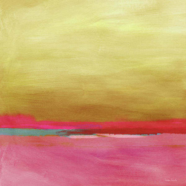 Horizon Wall Art - Mixed Media - Windswept Sunrise- Art By Linda Woods by Linda Woods