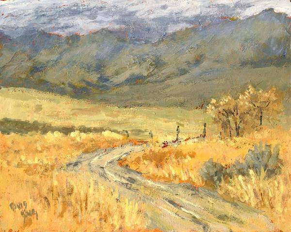 Painting - Windy Autumn by David King