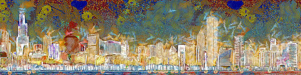 Photograph - Windy Chicago Illinois Skyline Celebration 20180516 by Wingsdomain Art and Photography