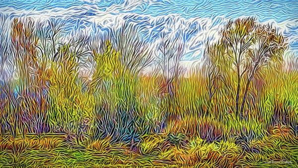 Digital Art - Windy Field Day by Joel Bruce Wallach