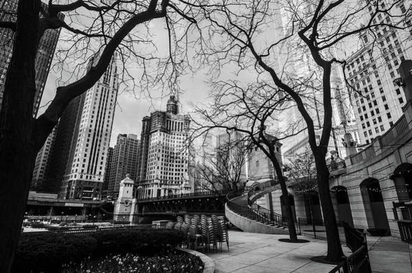 Photograph - Windy Mornings In The Chi  by D Justin Johns