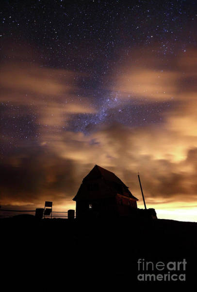 Photograph - Windy Night At Mt Chacaltaya by James Brunker
