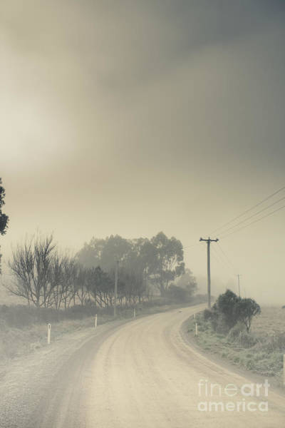 Gravel Road Photograph - Windy Paths To Destinations Unknown by Jorgo Photography - Wall Art Gallery