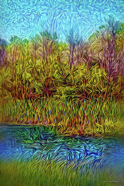 Digital Art - Windy River Afternoon by Joel Bruce Wallach