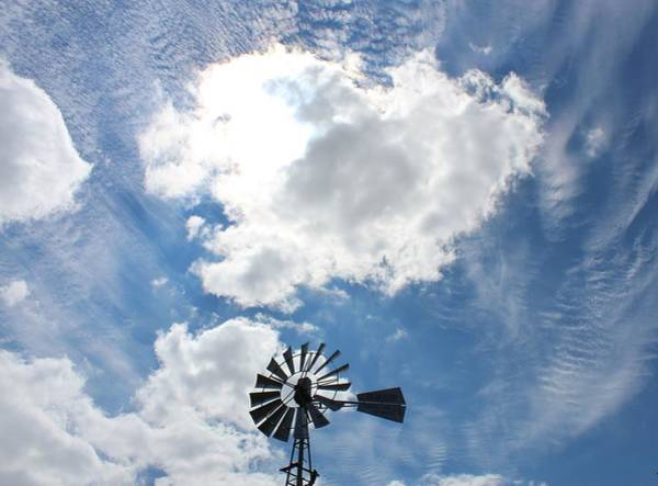 Wall Art - Photograph - Windy Windmill by Weathered Wood