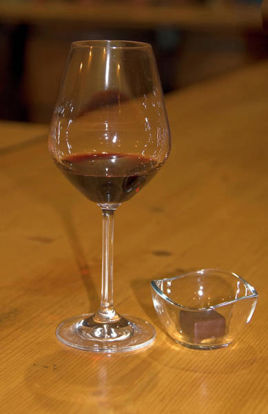 Chateauneuf Photograph - Wine And Chocolate by Sally Weigand
