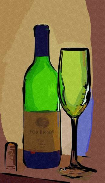 Photograph - Wine And Glass by Donna Bentley