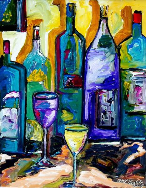 Painting - Wine And Spirit by Ray Khalife