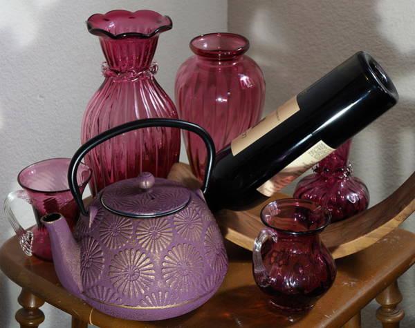 Wine And Tea Art Print