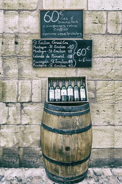 Photograph - Wine Barrel Specials by Georgia Fowler