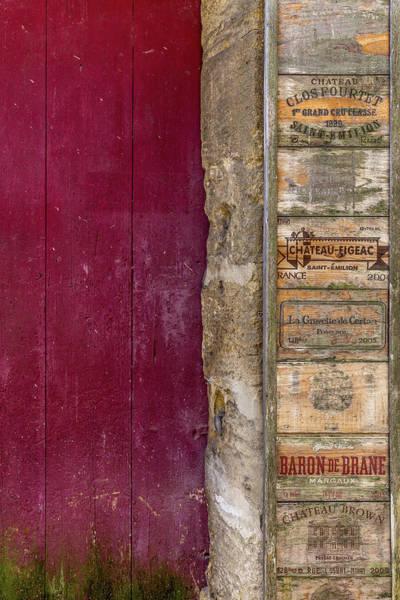Photograph - Wine Box Door by Georgia Fowler