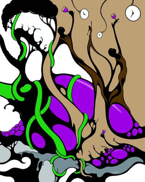Digital Art - Wine Break by Craig Tilley