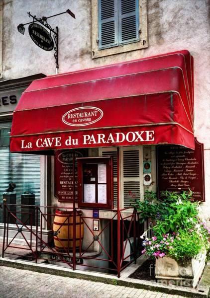 Photograph - Wine Cellar In Beaune France by Mel Steinhauer