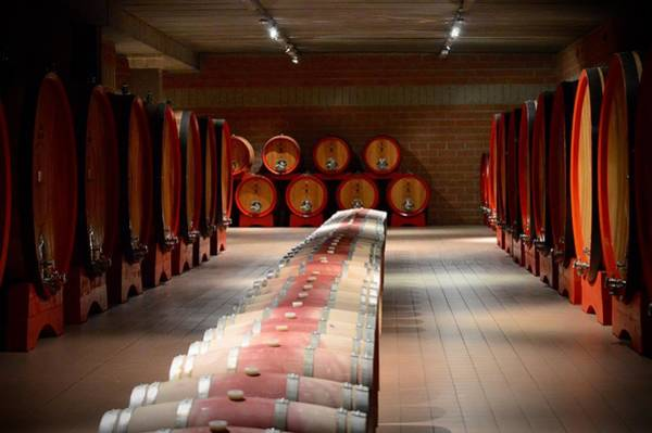 Photograph - Wine Cellar In Montalcino by Chris Alberding