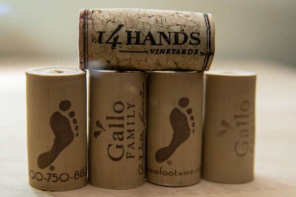 Photograph - Wine Corks by Teresa Blanton