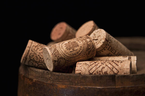 Life Wall Art - Photograph - Wine Corks by Tom Mc Nemar