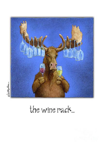 Painting - Wine Rack... by Will Bullas