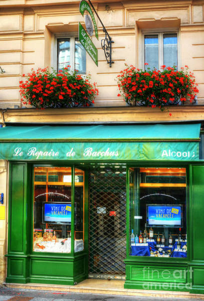 Photograph - Wine Shop On Rue Cler by Mel Steinhauer