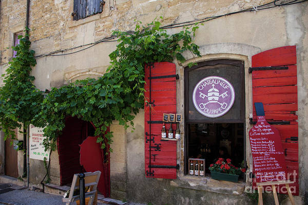 Chateauneuf Photograph - Wine Shoppe by Timothy Johnson
