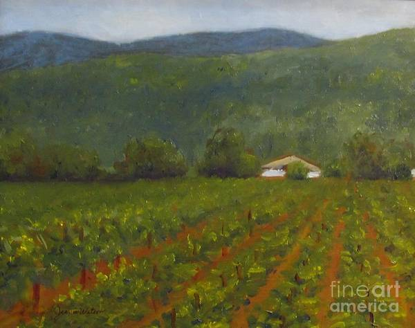 Painting - Wine Tasting At Solis Winery by Jeanie Watson