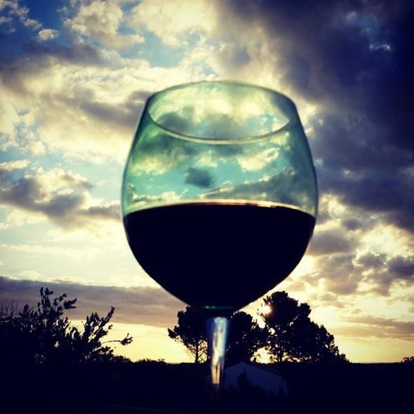 Photograph - #wineoclock  #wine  #sunset #summer by Jaynie Lea