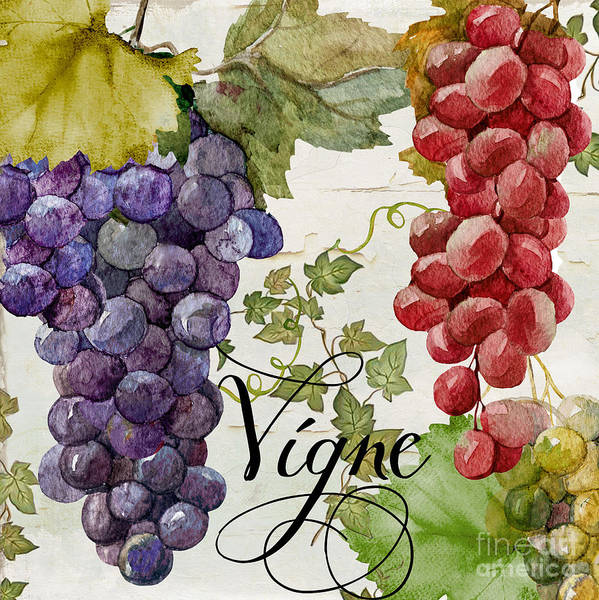 Vino Painting - Wines Of Paris by Mindy Sommers