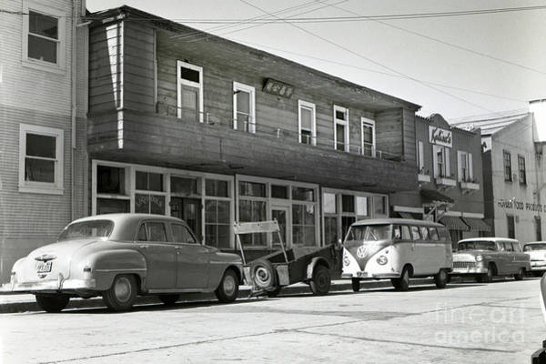 Photograph -  Wing Chong Building, And Kalisa Was Next Door Circa 1958 by California Views Archives Mr Pat Hathaway Archives