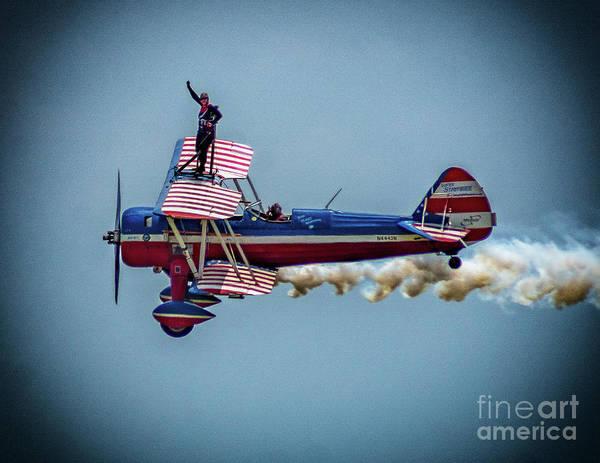 Photograph - Wing Walker by Nick Zelinsky