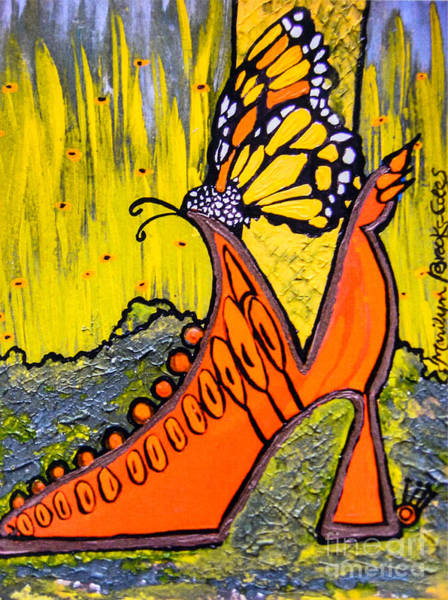 Painting - Wing Walking by Marilyn Brooks