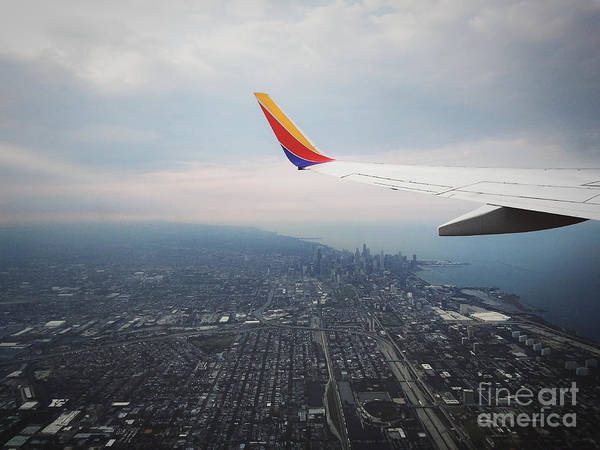 Photograph - Winged Above Chitown by Robert Knight