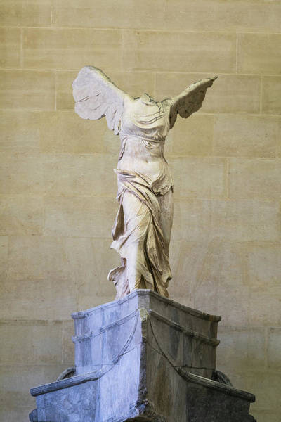 Wall Art - Photograph - Winged Victory Of Samothrace by Stephen Stookey