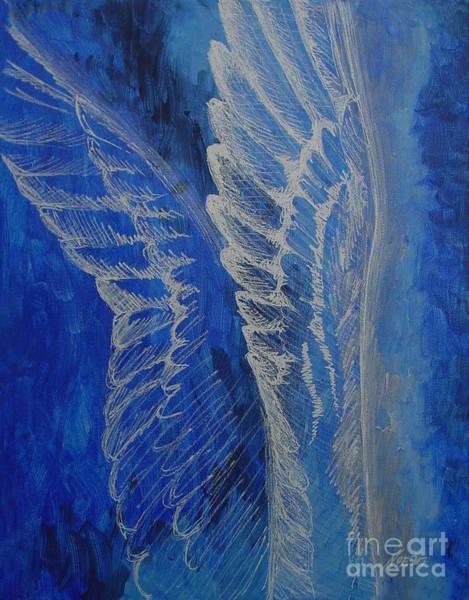 Wings Of Angel Art Print