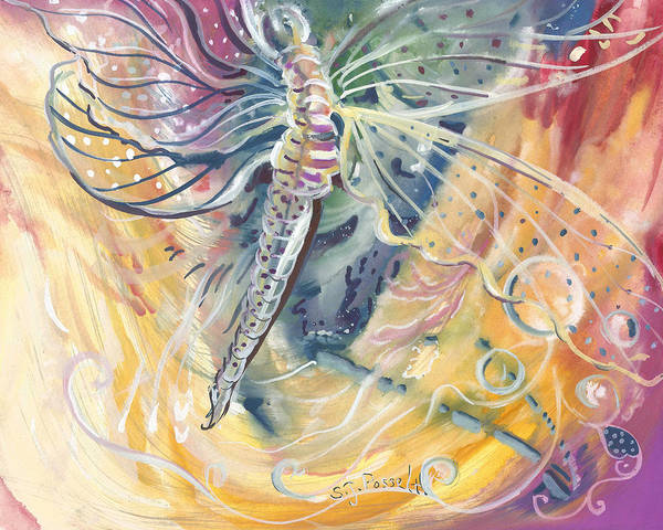 Wings Of Transformation Art Print