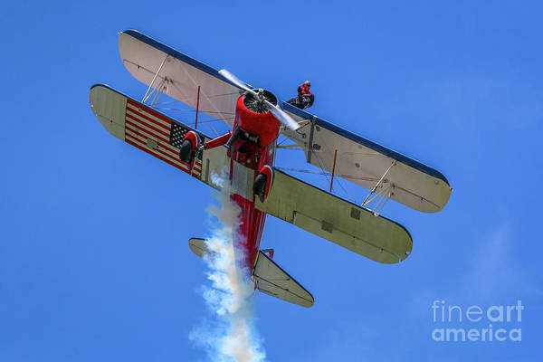 Photograph - Wingwalker Wave #2 by Tom Claud