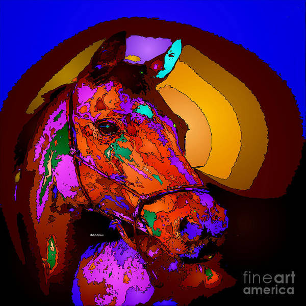 Digital Art - Winning Circle by Rafael Salazar