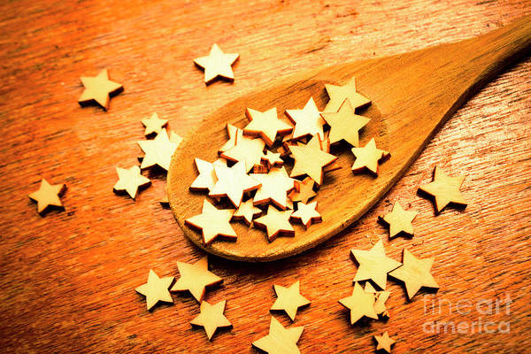 Recipe Photograph - Winning Star Recipe by Jorgo Photography - Wall Art Gallery