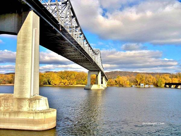 Photograph - Winona Bridge by Susie Loechler